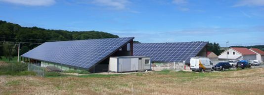Installation photovoltaique de la société Electro Concept Energie