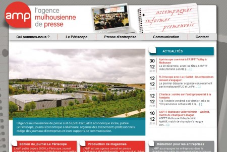 Site de l'Agence Mulhousienne de Presse