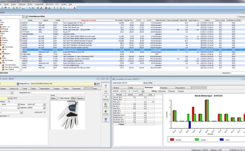 Logiciel de création de devis, gestion des ventes, des achats, des stocks et de la comptabilité pour PME, PMI, TPE et créateur d'entreprise