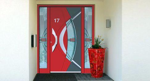 Porte Aluminium En Alsace Par Les Menuiseries Heidrich L Alsace Communique