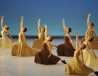 Danseuses sur scène
