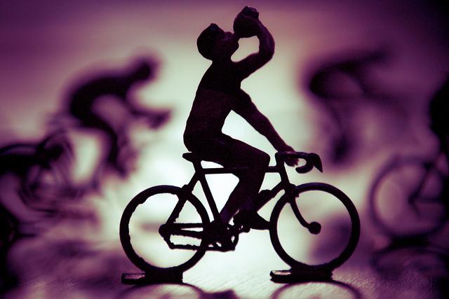 Silhouette Cycliste