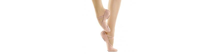 Chaussons de danse à demi-pointes