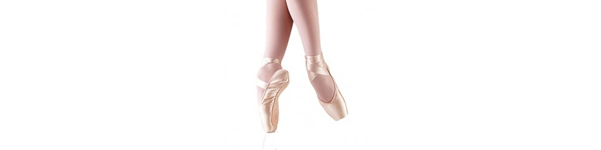 Chaussons de danse à pointes