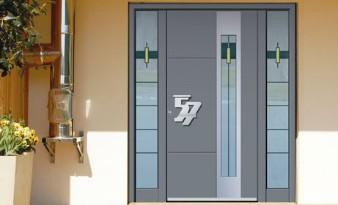Porte aluminium Heidrich