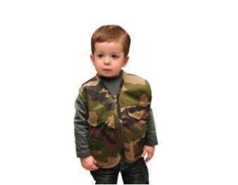 veste camouflage enfant