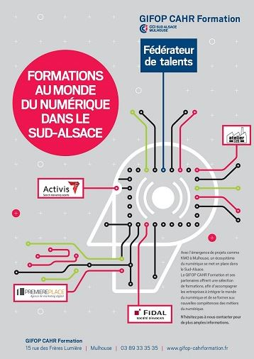 Formations digitales Alsace